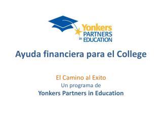Ayuda financiera para  el College