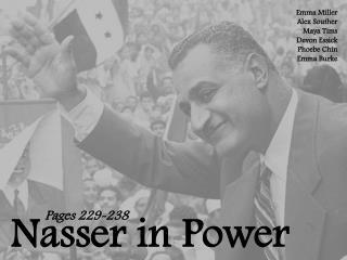 Nasser in Power