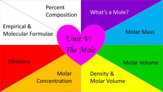 Unit V: The Mole