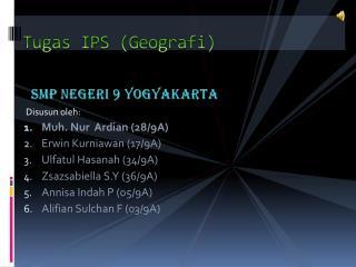 Tugas IPS (Geografi)