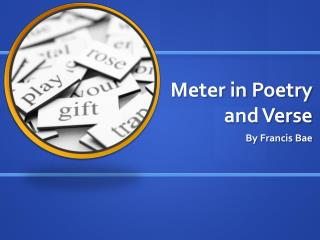 Meter in Poetry and Verse