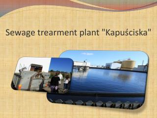 Sewage trearment  plant