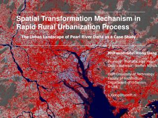 Spatial Transformation Mechanism in  Rapid Rural Urbanization Process