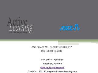 Dr Carlos A  Raimundo Rosemary Ruthven www.neuro-learning.com