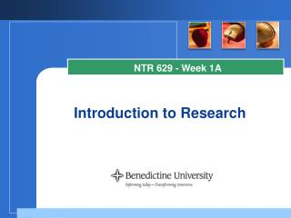 Introduction to Research