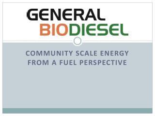 General Biodiesel Seattle