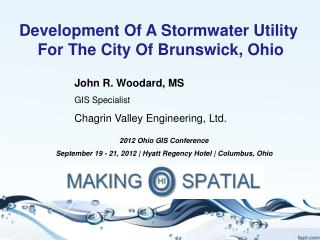 Development Of A  Stormwater Utility For The City  Of Brunswick,  Ohio