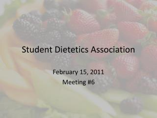 Student Dietetics Association