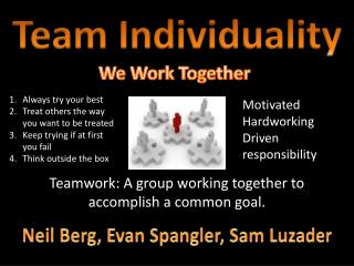 Team Individuality