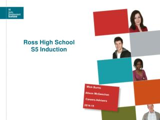 Ross  High School S5 Induction