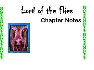Lord of the Flies Chapter Notes