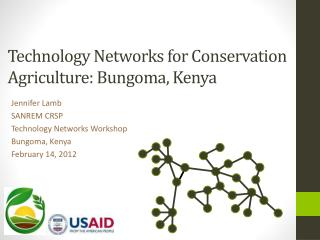 Technology Networks for Conservation Agriculture: Bungoma , Kenya