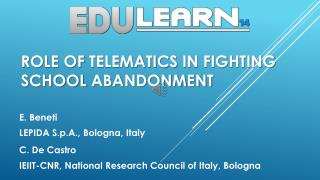 Role  of  telematics  in  fighting school abandonment