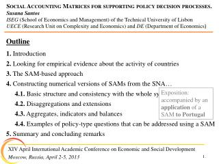 XIV April International Academic Conference on Economic and Social Development