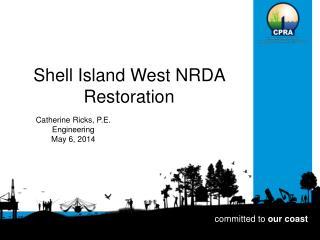 Shell Island West NRDA Restoration