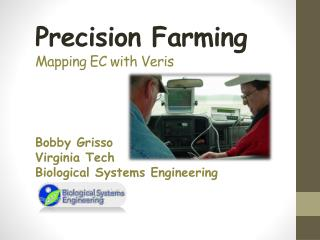 Precision Farming Mapping EC with  Veris