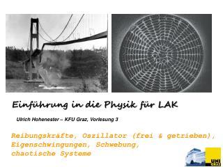 Ulrich Hohenester – KFU Graz ,  Vorlesung 3