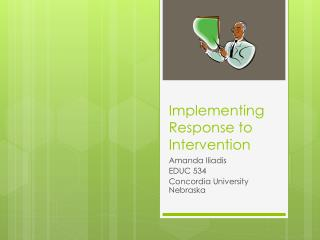 Implementing  Response to Intervention