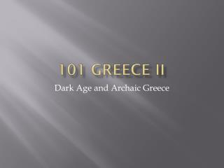 101 Greece II