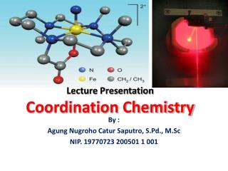 Lecture Presentation Coordination Chemistry