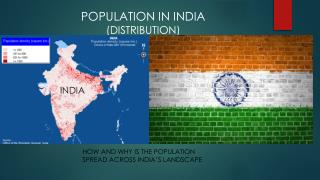 How and Why is the Population Spread Across India's Landscape