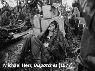 Michael Herr,  Dispatches  (1977)