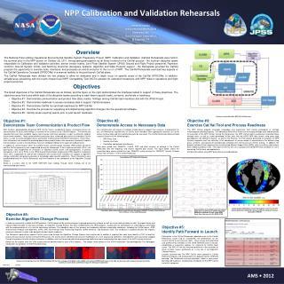 NPP Calibration and Validation Rehearsals