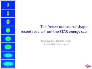 The freeze-out source shape: recent results from the STAR energy scan