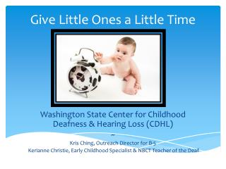 Give Little Ones a Little Time