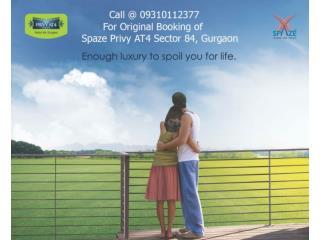Spaze Privy AT4 Sec 84 Gurgaon Call@09310112377