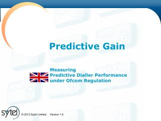 Measuring Predictive Dialler Performance under Ofcom Regulation