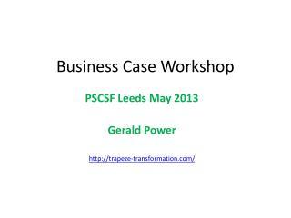 Business Case Workshop