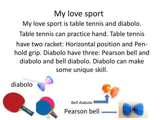 My love sport