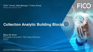Collection Analytic Building Blocks