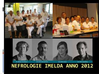 Nefrologie Imelda  anno 2012