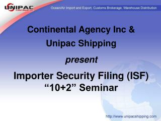 Download Presentation file of UnipacContinental 102 seminar