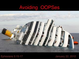 Avoiding   OOPSes