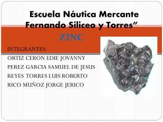 """"""" Escuela Náutica Mercante Fernando Siliceo y Torres"""""""