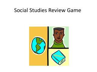 Social Studies Review Game
