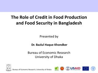 Bureau of Economic Research, University of Dhaka
