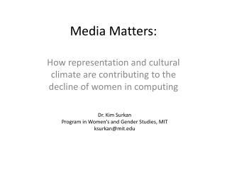Media Matters: