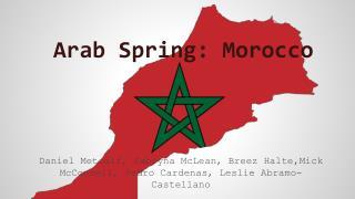 Arab Spring: Morocco
