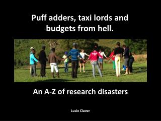 An A-Z of research disasters Lucie  Cluver
