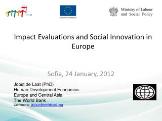 Impact Evaluations and Social Innovation in Europe