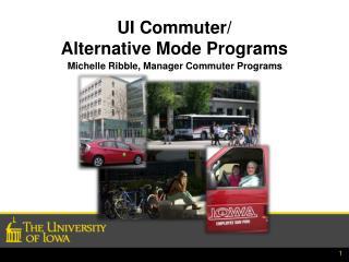 UI Commuter/ Alternative Mode Programs