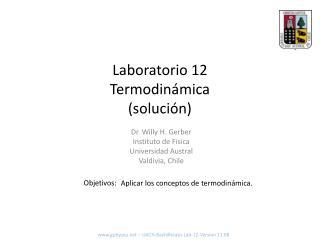 Laboratorio 12 Termodinámica (solución)