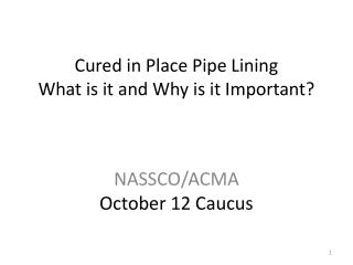 Cured in Place Pipe Lining What is it and Why is it Important?
