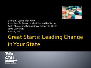 Great Starts: Leading Change in Your State