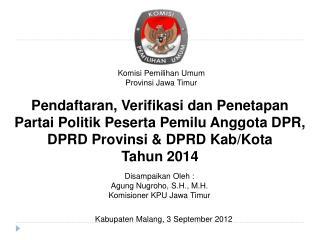 Komisi Pemilihan Umum Provinsi Jawa Timur