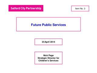 Future Public Services